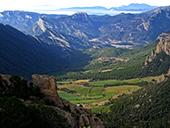 Serra Seca et le Pla de les Guàrdies depuis Cambrils