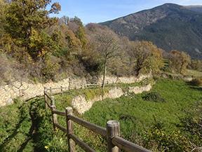 Noguera Pallaresa et la vall�e d��ssua depuis Sort