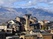 Tornafort et la vall�e de Siarb depuis Sort