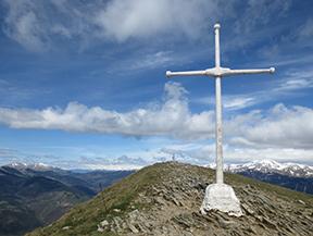 Taga (2040 m) depuis Pardines