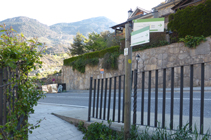 Route de La Rabassa à l´urbanisation de la Pleta de Sibós.