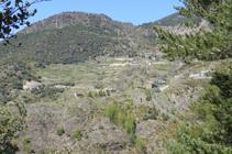 Vue sur Sant Serni de Nagol.