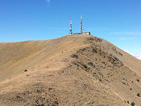 Torreta de l�Orri (2439 m) depuis Llagunes