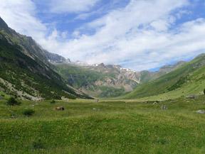 Vall�e d�Otal depuis San Nicol�s de Bujaruelo
