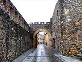 Tour au château d´Hostalric
